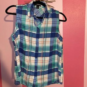 Plaid Button Up!